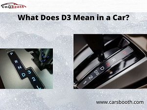 What Does D3 Mean in a Car