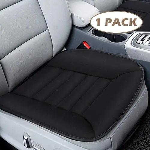 MYFAMIREA Black Seat Cushion Pad