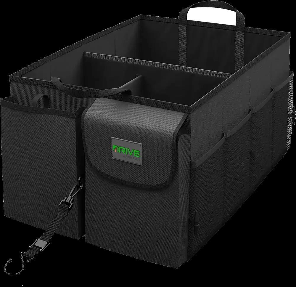 Drive Auto- Collapsible Multi-Compartment Car Organizer