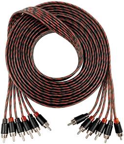Oxygen Free Copper conductors RCA Audio Cable