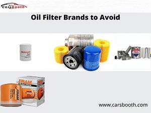 Oil Filter Brands to Avoid